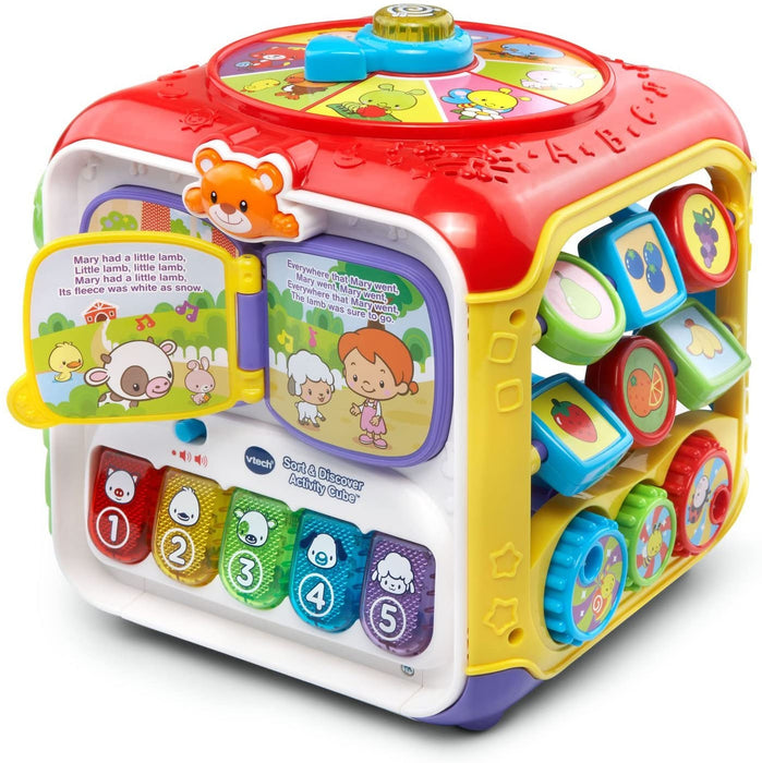 VTech Sorting & Discovery Activity Cube for kids 1-3 years