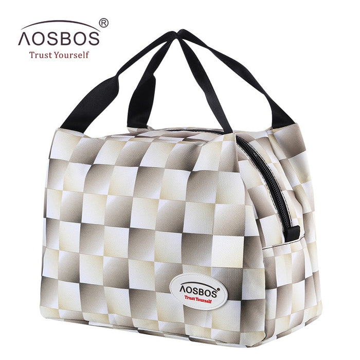 Fashion  Insulated Thermal  Picnic Lunch Bags