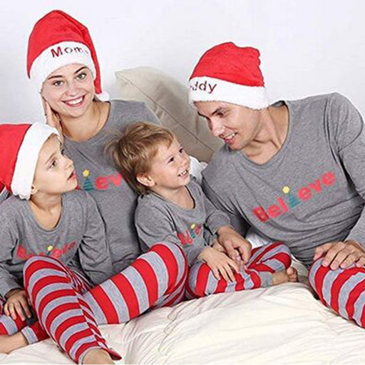 kids Christmas Family Matching Pajamas sleepwear Sets