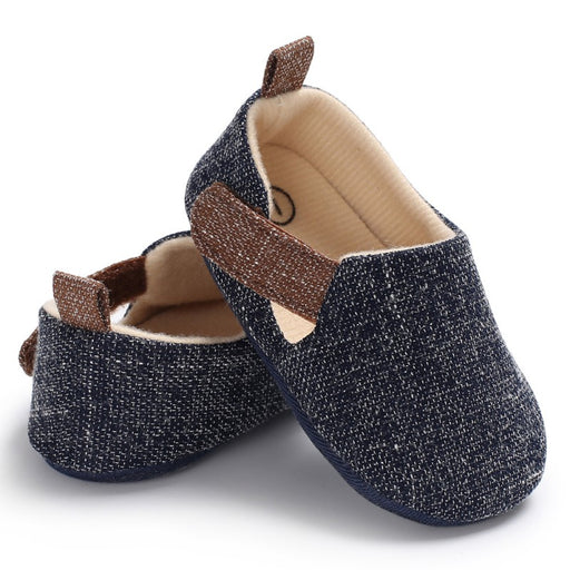 Baby Boy Nonslip hard Sole Shoes