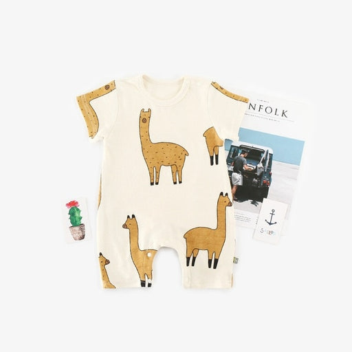 Baby Boy Girls Cute Animal Romper