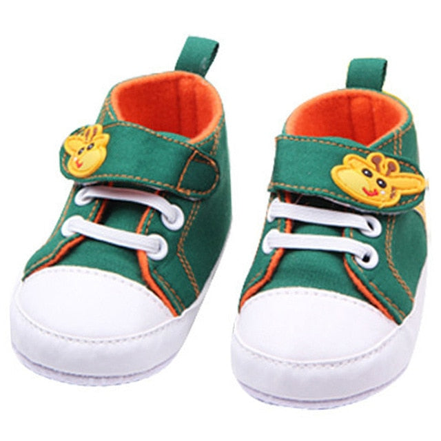 Baby Girl Boy Soft Sole Sneakers Shoes