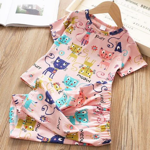 summer Baby Boy Pajamas set