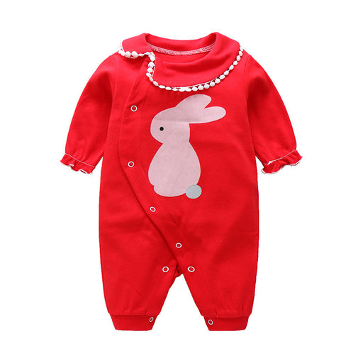 Baby Boys Girls Romper Cartoon Jumpsuit