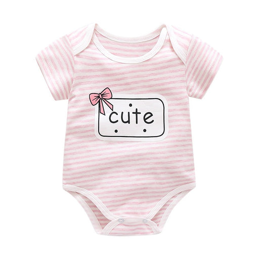 baby girls rompers cotton summer jumpsuit