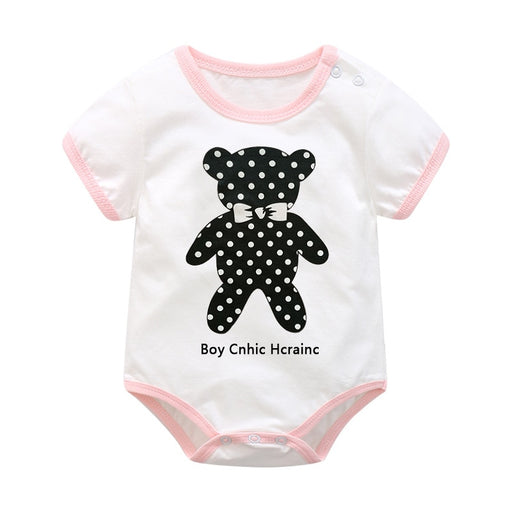 baby girl boy cotton rompers jumpsuit