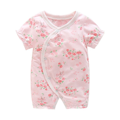 baby girl cartoon rompers jumpsuits