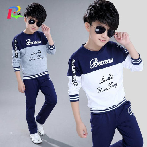 kids Boys Sport Casual Letter printed Clothing Sets