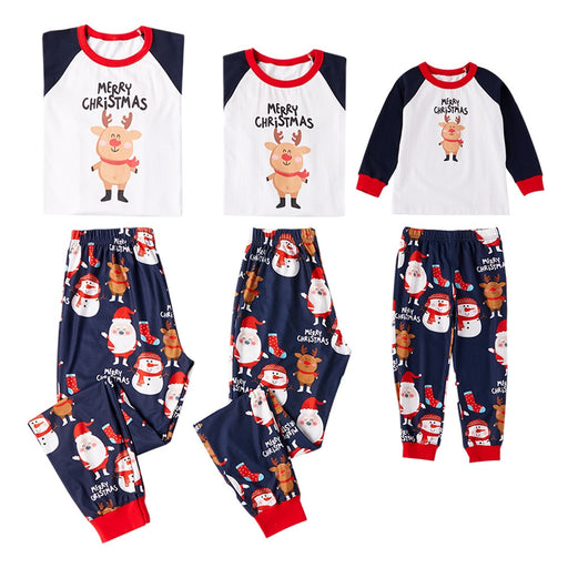 kids Xmas Family Matching Pajamas Sets