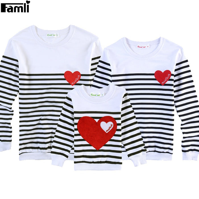 Father Mother Kids family matching T-shirts