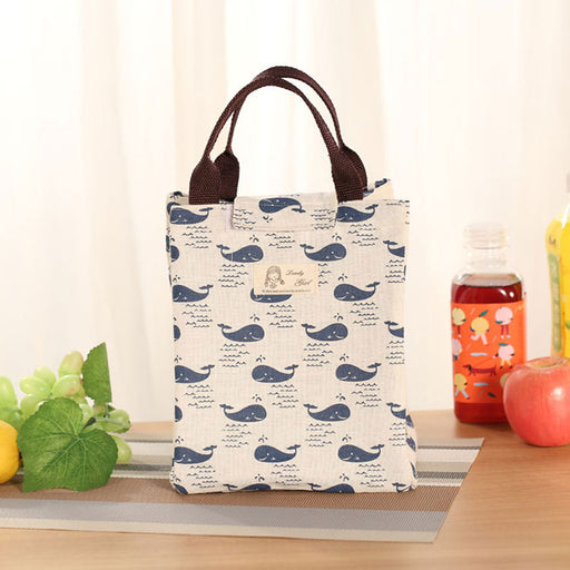 Female Lunch Food Box Bag Thermal Food Picnic Lunch Bags