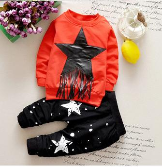 Baby Boy long sleeve tshirt pants Sets