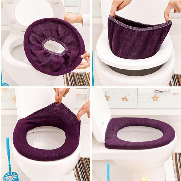 Warm Soft Toilet Cover Seat Lid Cover