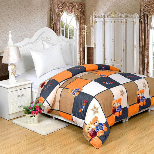 Student Girl Boy Soft Cotton Single Bed  150x210 Duvet Cover Set No. 87
