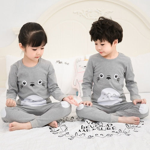 Kids boys Girls Dinosaur pattern Sleepwear