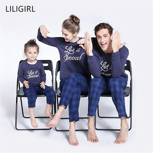 kids Family Matching Christmas Pajamas sleepwear Sets