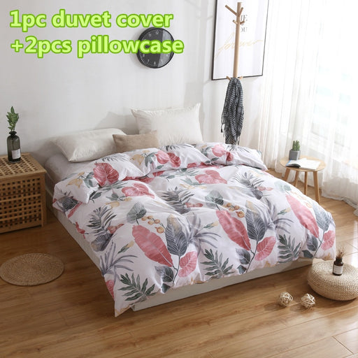 Fashionable Cotton 3 Pcs Duvet Cover Set