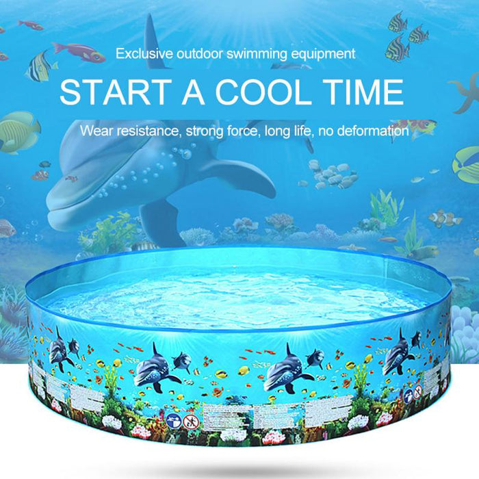 122/152cm Children Round Swimming Pool
