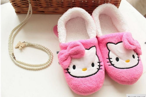 New Hello kitty Nice Plush shoes