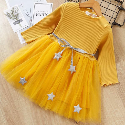 Girls  Birthday  Party Dresses  AZ1490Yellow