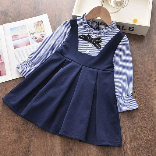 Girls  Birthday  Party Dresses  AH001blue