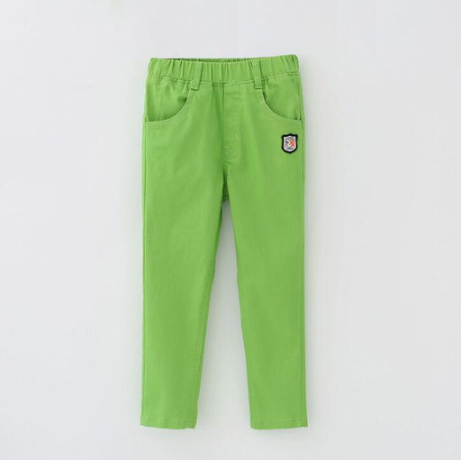 Cotton casual sports pants for boys