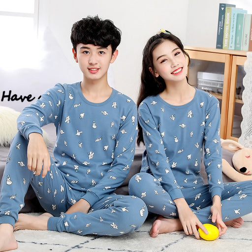 Boys Girls Cotton Summer Pajamas