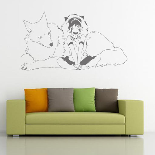 Cartoon Wall Sticker for Kids Room