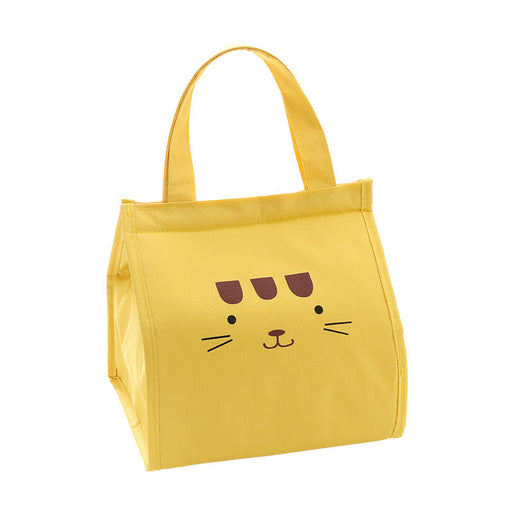 Thermal cartoon  insulation bag  for women men Yellow