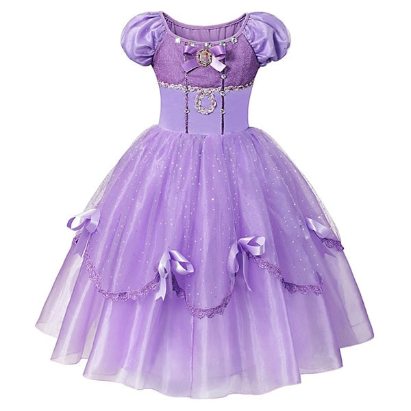 Princess Dress For Girls  Sofia Dress 123