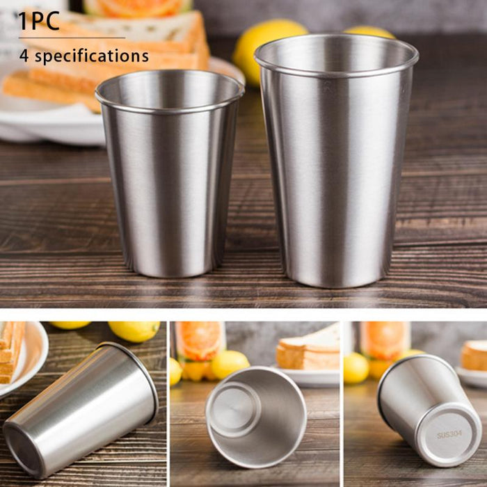 Stainless Steel Pint  Metal Cup 30ml/70ml/180ml/320ml