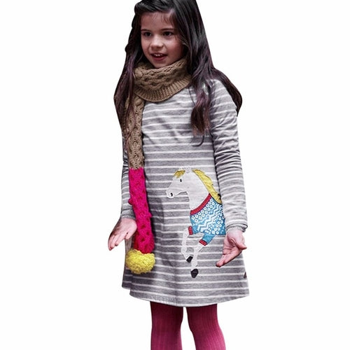 Vestido Infantil hot Girls Dress Princess Dress