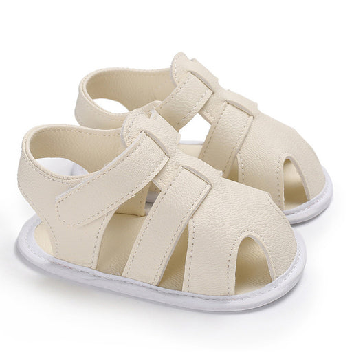 Newborn Boys PU Leather Shoes