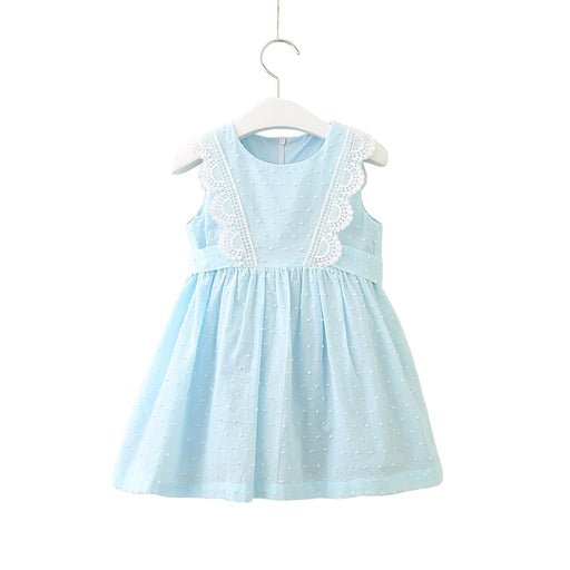 baby girl summer chiffon sleeveless dress