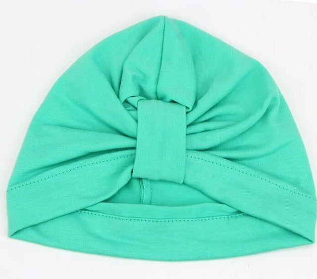 Children Baby Cotton Candy Color Beanies