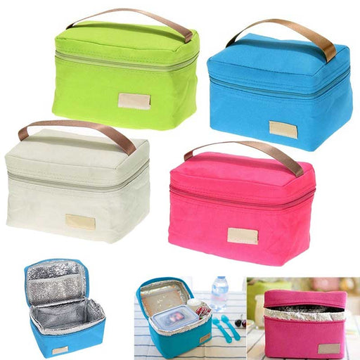 Travel Tinfoil Insulated Cooler Thermal Lunch Bag