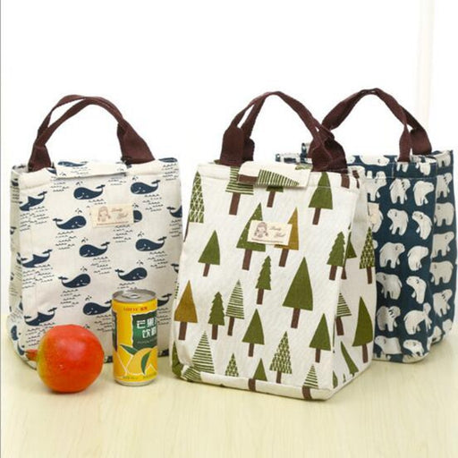 Portable Fashion Thermal Picnic Lunch Bags