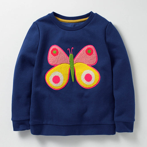 Cartoon Butterfly Kid's Girl's Baby's Sweatshirt