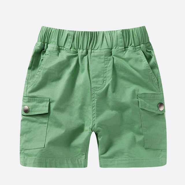 Hot Boys Shorts Cotton Material Short Trousers Children Beach Pants for Kids Casual