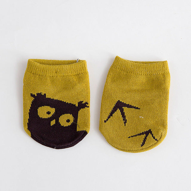 Newborn Boys Girls Cute Cartoon Sock