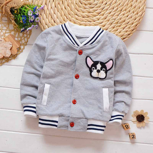 boys cartoon sport jacket coats