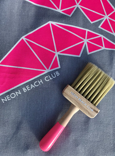 Neon Beach Club Beach Brush
