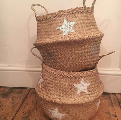 Star Belly Basket
