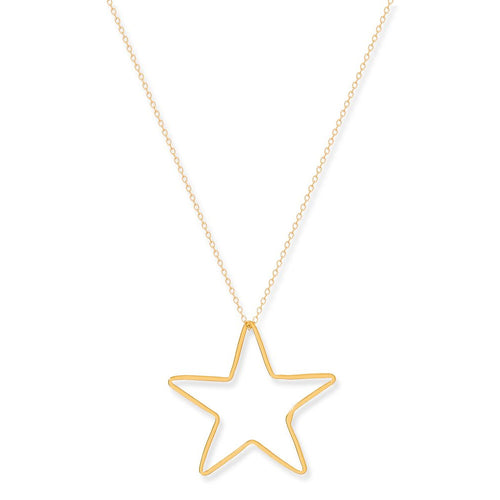 Superstar Gold Necklace
