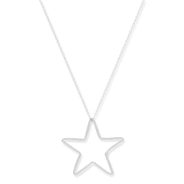 Superstar Sterling Silver Star necklace