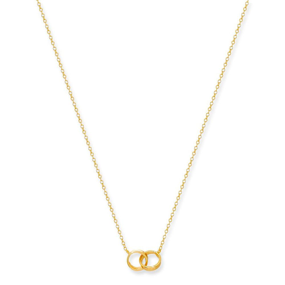 Lily Gold Ring Necklace