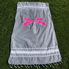 Neon Beach Club Hammam Towel