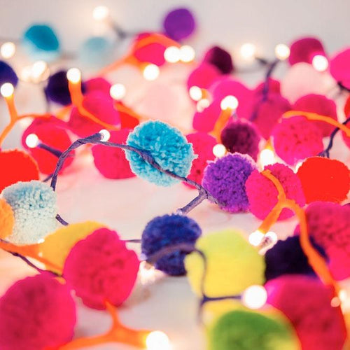 Pom Pom Fairy Lights