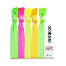 Neon Glow Popband Hair Ties