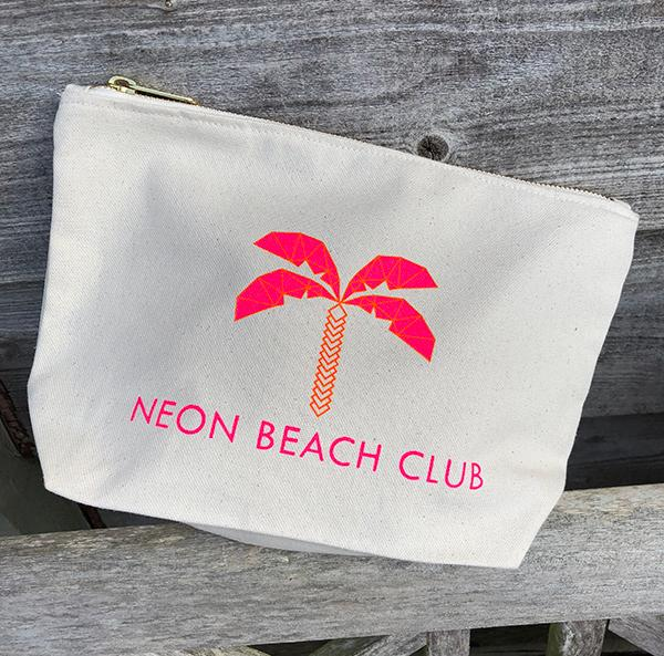 Neon Beach Club Pouch